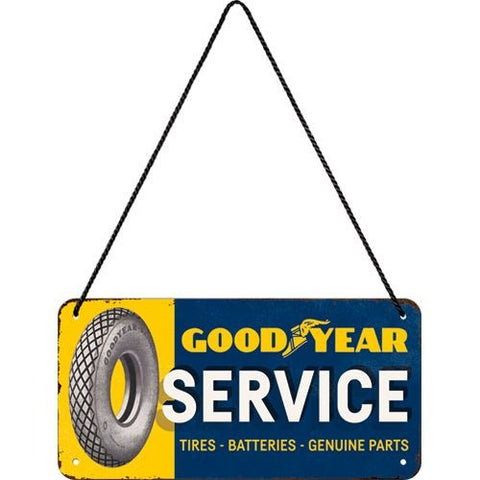 Nostalgic Art - NA Hanging Sign - Goodyear Service - Studio Thien