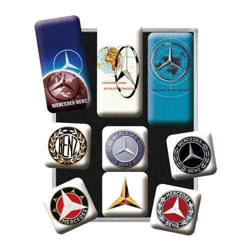 Nostalgic Art - NA Magnet Set - Mercedes Evolution - Studio Thien
