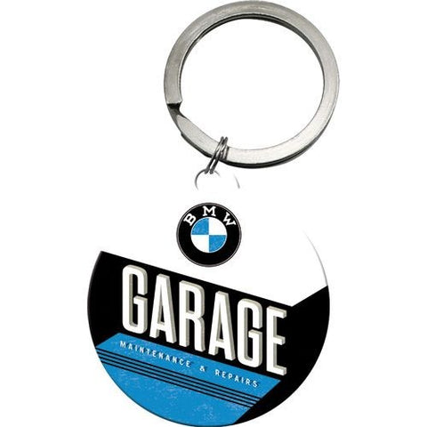 Nostalgic Art - NA Key Chain Round - BMW Garage - Studio Thien