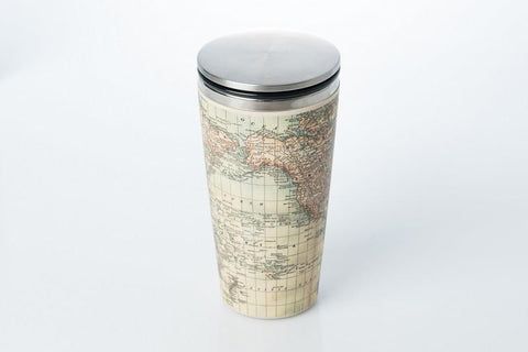 ChicMic - Bamboo SlideCup - Antique Map - Studio Thien