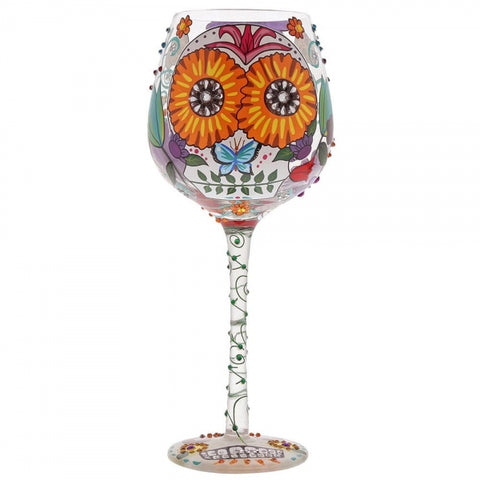Lolita - Wine Glass XL - Superbling Sugar Skulls - Studio Thien