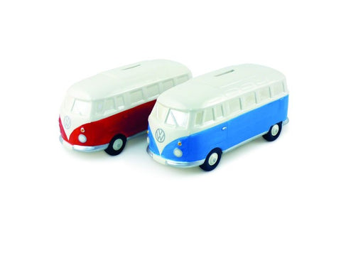 VW T1 Money Bank Classic Red