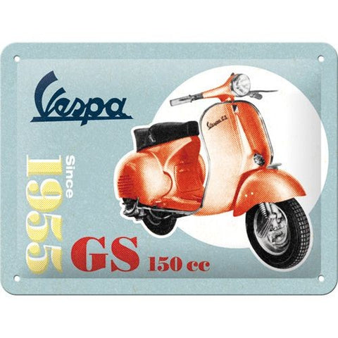 NA Tin Sign 15x20 - Vespa GS 150