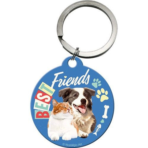 Nostalgic Art - NA Key Chain Round - Best Friends - Studio Thien