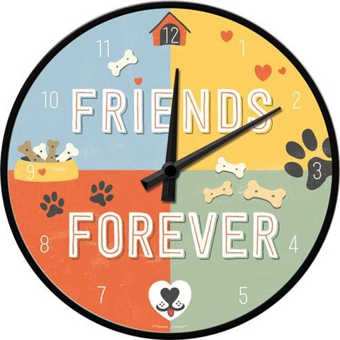 NA Wall Clock - Friends Forever