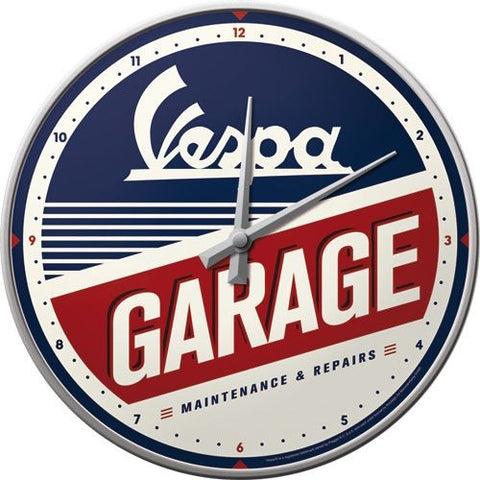 NA Wall Clock - Vespa Garage