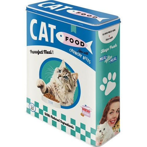 NA Tin Box XL - Cat Food