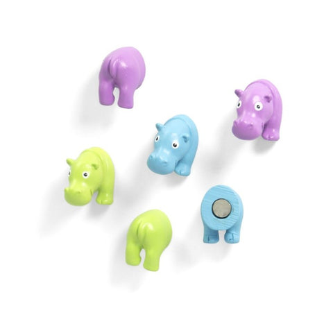 Trendform - Magnet Hippo - set of 6 - Studio Thien