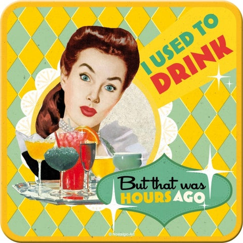 Nostalgic Art - NA Coaster - I Used to Drink - Studio Thien