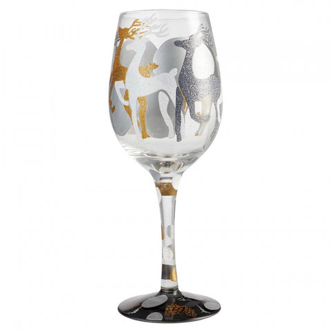 Lolita - Wine Glass - Vision of Reindeer - Studio Thien