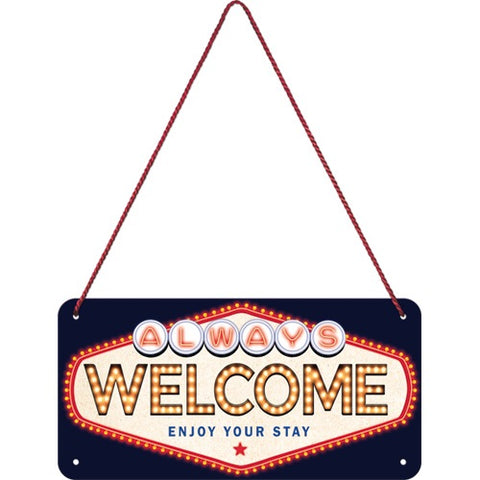 Nostalgic Art - NA Hanging Sign - Welcome - Studio Thien