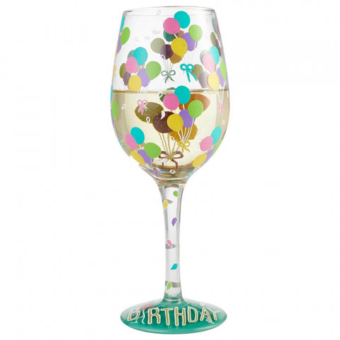 Lolita - Wine Glass - Birthday Balloons - Studio Thien