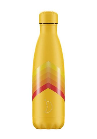 Chilly's Bottle - Chilly's Bottle 500ml - Yellow Zigzag - Studio Thien