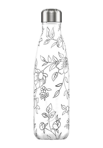 Chilly's Bottle - Chilly's Bottle 500ml - Line Drawing Flower - Studio Thien