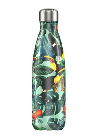 Chilly's Bottle - Chilly's Bottle 500ml - Tropical Toucan - Studio Thien