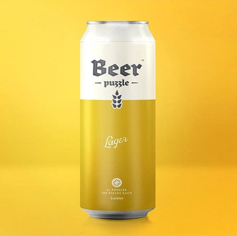 Luckies - Beer Puzzle LAGER - Studio Thien