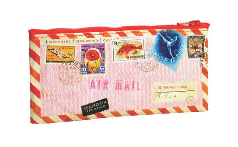 BlueQ - Pencil Case-Airmail - Studio Thien