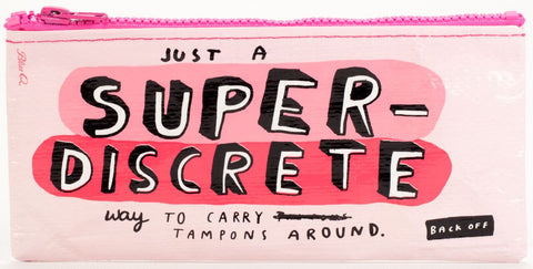 BlueQ - Pencil Case-Super Discrete - Studio Thien