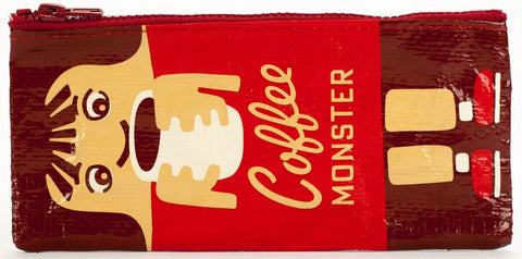 BlueQ - Pencil Case-Coffee Monster - Studio Thien