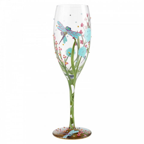 Prosecco Glass- Dragonfly