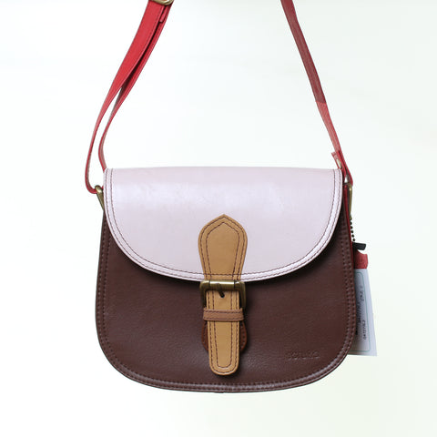 Leather Bag 19x16 RD