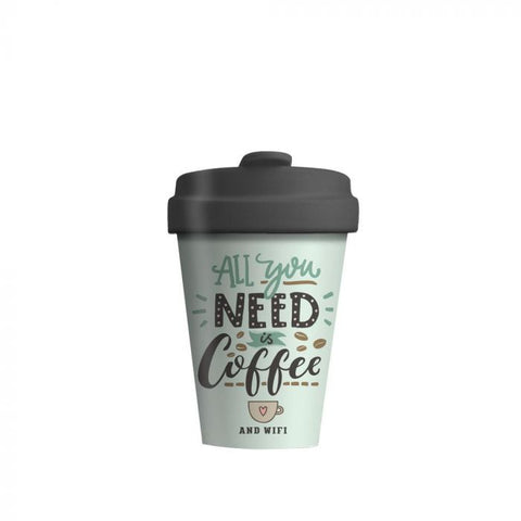 BambooCup - All You Need is Coffee