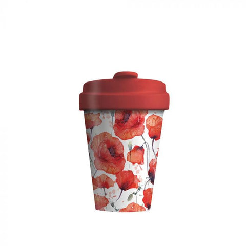 BambooCup - Poppy Flowers