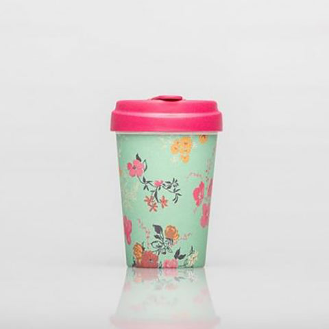 BambooCup - Flower Pattern