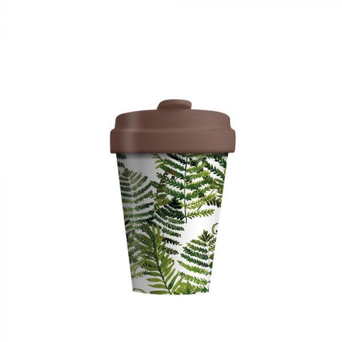 BambooCup - Green Leaves