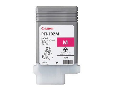 Canon PFI-102M, Magenta Inkjet - Ink Cartridge
