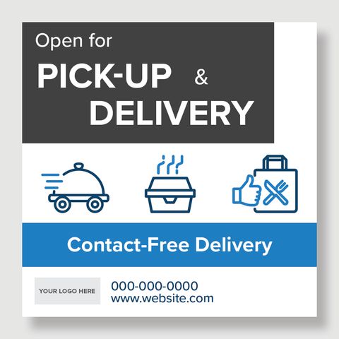 Open for Pick-Up and Delivery