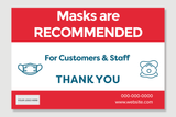 Masks Are Recommended