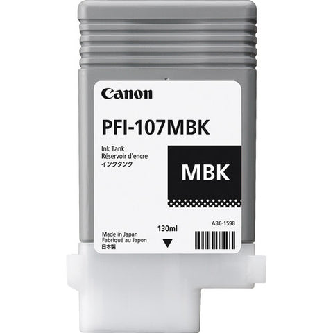 Canon PFI-107MBK Matte Black Ink Cartridge