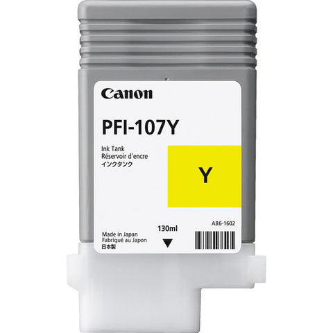 Canon PFI-107Y Yellow Ink Cartridge