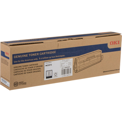 OKI MC873 Black Toner Cartridge