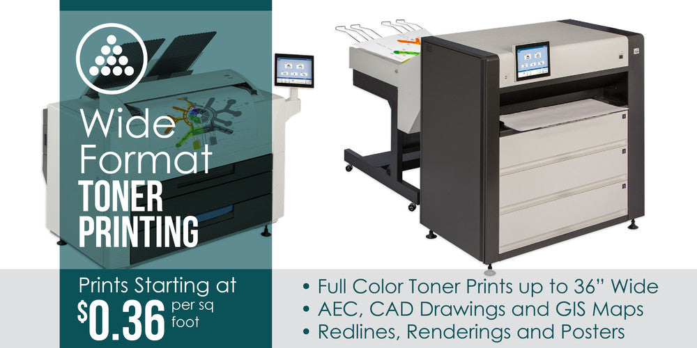 Large Format Color Toner Printing