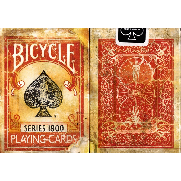 Marked Vintage 1800 Playing Cards