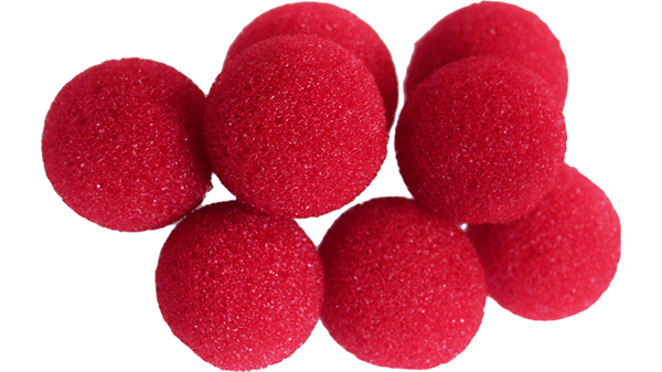 Mini Regular Sponge Ball (Red) Bag of 8 from Magic by Gosh - Got Magic?