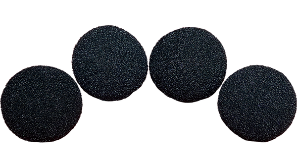 2 inch Super Soft Sponge Ball (Black) Pack of 4 from Magic by Gosh - Got Magic?