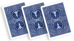 Stripper Deck Mandolin Bicycle (Blue) - Got Magic?