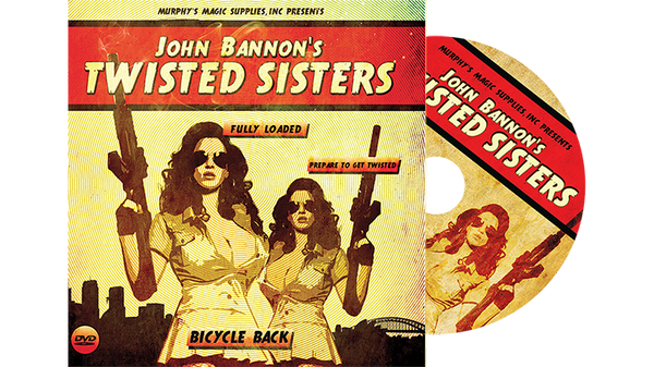 Twisted Sisters 2.0 (DVD and Gimmick) Mandolin Card by John Bannon - Trick - Got Magic?