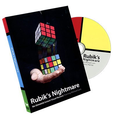 Rubik's Nightmare by Michael Lam and SansMinds Magic - DVD - Got Magic?