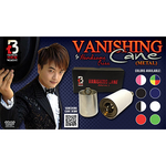 Vanishing Metal Cane (Black) by Handsome Criss and Taiwan Ben Magic - Trick - Got Magic?