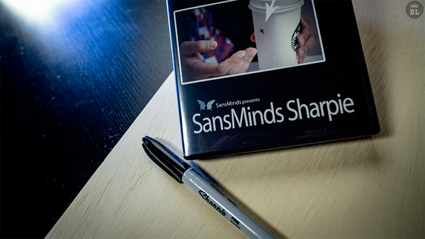 SansMinds Sharpie (DVD and Gimmick) by Will Tsai - DVD