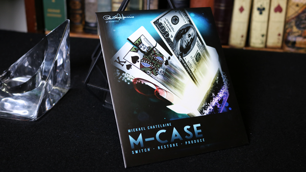 M-Case Blue (Gimmick and Online Instructions) by Mickael Chatelain - Trick