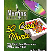 52 Card Monte by Merlins - Trick - Got Magic?