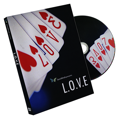 L.O.V.E (DVD and Gimmick) by SansMinds - DVD