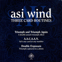 Three Card Routines by Asi Wind - Got Magic?