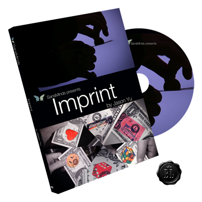 Imprint (DVD and Gimmick) by Jason Yu and SansMinds - Got Magic?