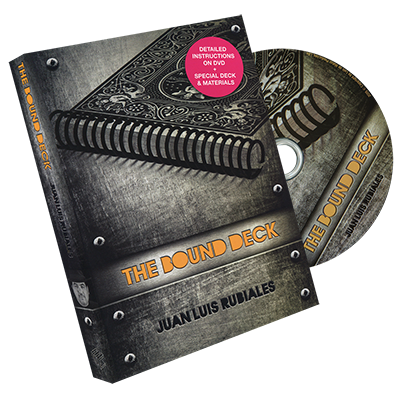 The Bound Deck DVD and Gimmick by Juan Luis Rubiales and Luis de Matos
